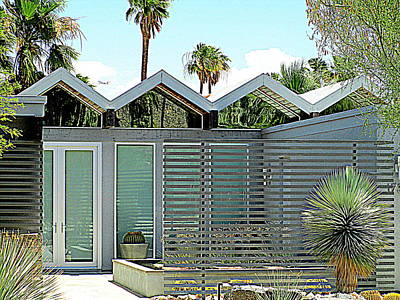 Photograph - Palm Springs This Century Modern One by Randall Weidner