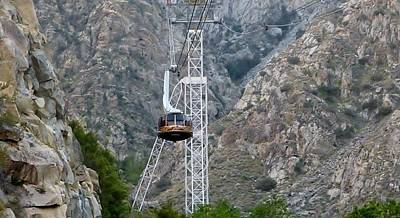 Photograph - Palm Springs Tram Ride by Susan Garren