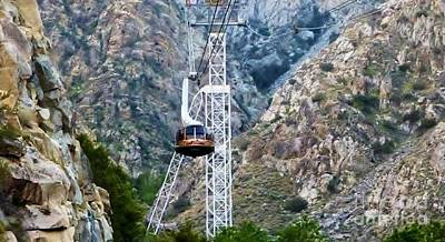 Photograph - Palm Springs Tram by Susan Garren