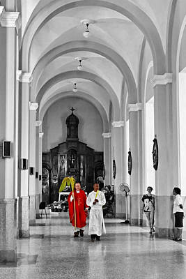 Palm Sunday In El Cobre Art Print by Dawn Currie