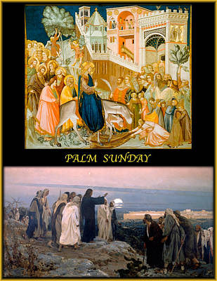 Palm Sunday Painting - Palm Sunday by James William Allen