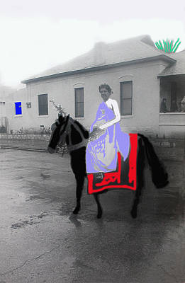 State Love Nancy Ingersoll Rights Managed Images - Palm Sunday re-enactor La Fiesta de los Vaqueros Rodeo Parade Tucson Arizona 1982-2012 Royalty-Free Image by David Lee Guss