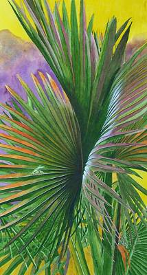 Painting - Palm Tracks by Norman Freyer