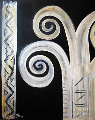 Painting - Palm Tree by Eva-Maria Becker