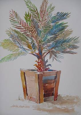 Painting - Palm Tree by John  Svenson