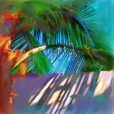 Palm Trees Mixed Media Mixed Media - Palm Tree by S Seema Z