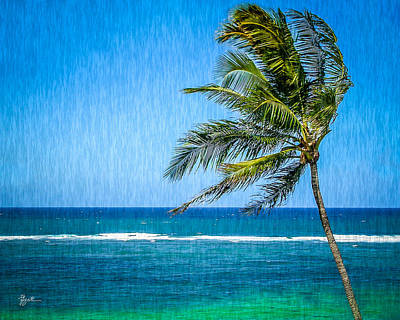 Photograph - Palm Tree Swaying by TK Goforth