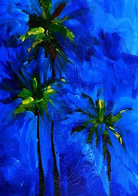 Painting - Palm Trees Abstract by Patricia Awapara