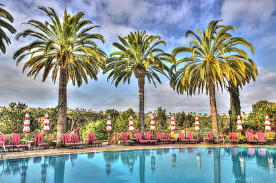 Photograph - Palm Trees Swaying In The Wind by Heidi Smith