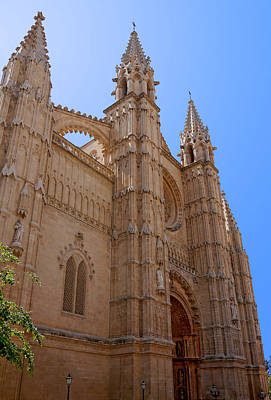 Photograph - Palma Cathedral 5 by Herb Paynter