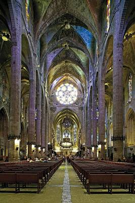 Teruel Photograph - Palma De Majora Cathedral. Ca by Everett