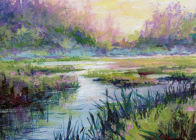 Painting - Palmer Hayflats by Karen Mattson
