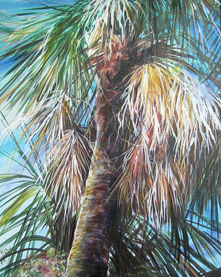 Painting - Palmetto 1 by Gloria Turner