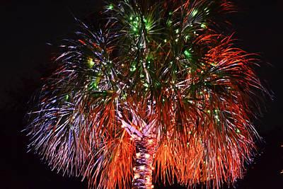 Photograph - Palmetto Christmas Tree by Elvis Vaughn
