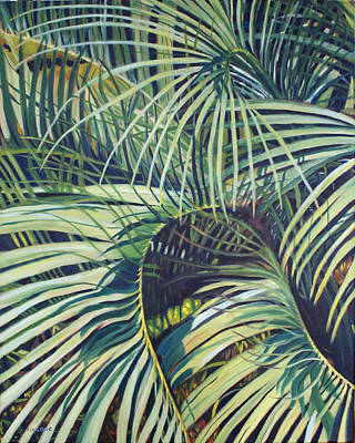Painting - Palmetto Patterns by Jill Ciccone Pike