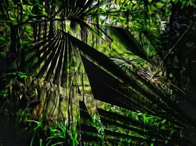 Photograph - Palmetto Swamp by John  Duplantis