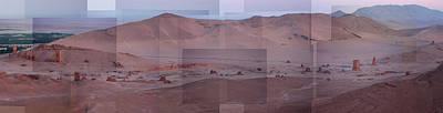 Palmyra Syria Valley Of The Tombs Art Print