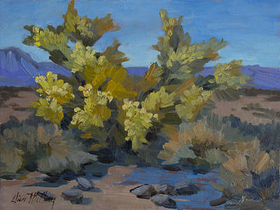 Painting - Palo Verde In La Quinta Cove by Diane McClary