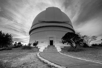Art Print featuring the photograph Palomar Observatory by Robert  Aycock