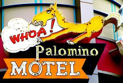 Photograph - Palomino Motel by Randall Weidner