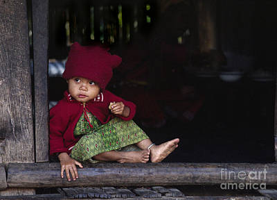 Photograph - Palong Child - Northern Thailand by Craig Lovell