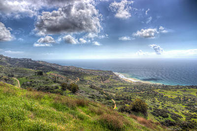 Outlook Photograph - Palos Verdes Peninsula Hdr by Heidi Smith