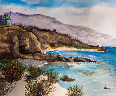 Painting - Palos Verdes Peninsula by Lee Stockwell