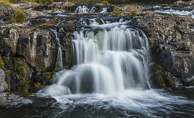 Photograph - Palouse Cascade by Loree Johnson