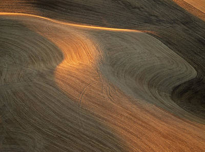 Palouse Contours II Art Print by Latah Trail Foundation
