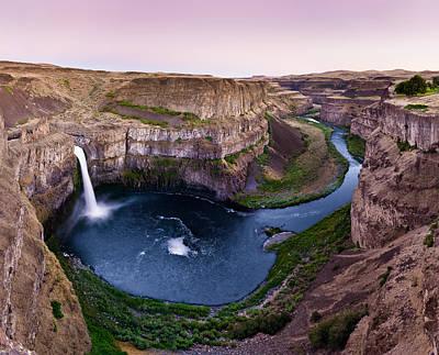 Photograph - Palouse Falls by Niels Nielsen