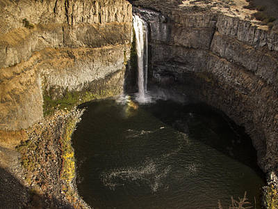 Photograph - Palouse Falls With Rainbow by Jean Noren