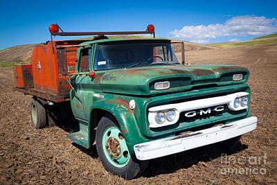 Photograph - Palouse Gmc Truck by Inge Johnsson