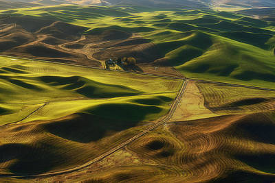 Palouse Homestead Art Print by Ryan Manuel