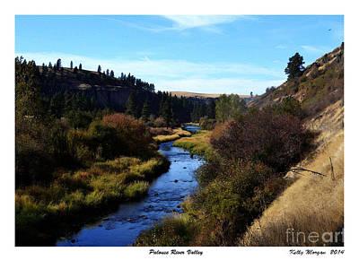 Palouse River Valley Original by Kelly Morgan