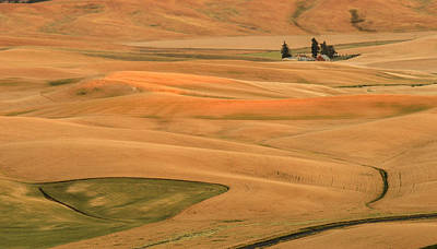 Photograph - Palouse Sunset by Jean Noren