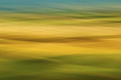 Contour Farming Photograph - Palouse Symmetry by Latah Trail Foundation