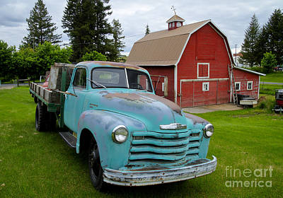 Photograph - Palouse Truck by Idaho Scenic Images Linda Lantzy