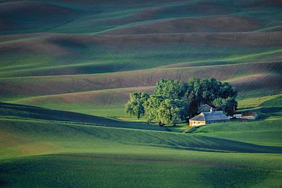 Contour Farming Photograph - Palouse - Washington - Farms - #3 by Nikolyn McDonald