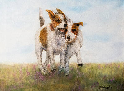Painting - Pals by Loretta Luglio