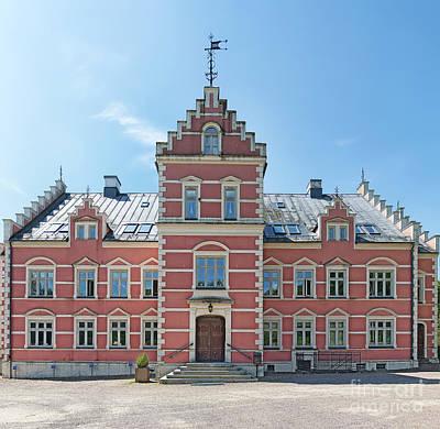 Helsingborg Photograph - Palsjo Slott Front Facade by Antony McAulay