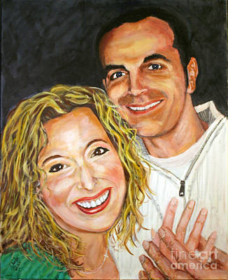 Painting - Pam And Ryan by Charlie Harris