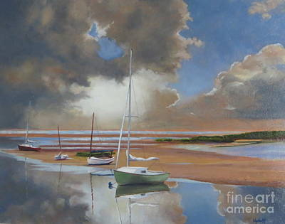 Pamet Harbor Inlet Art Print