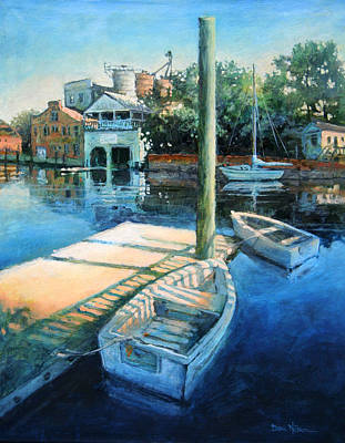 Painting - Pamlico Morning by Dan Nelson