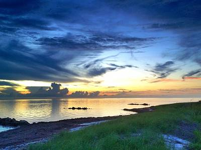 Photograph - Pamlico Sunset by Dave Hall