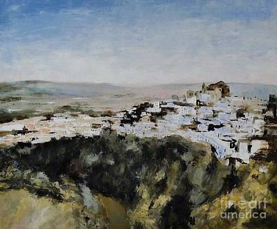 Painting - Pampaneira3 / Andalucia / Spain by Karina Plachetka