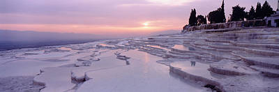 Calcareous Photograph - Pamukkale Turkey by Panoramic Images