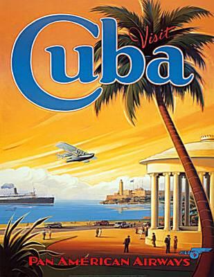Pan Am Cuba  Art Print