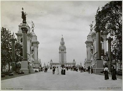 The American Buffalo Photograph - Pan-am Expo, 1901 The Triumphal by Granger