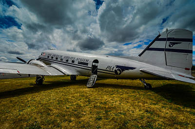 Pan American Airways Dc3 Art Print