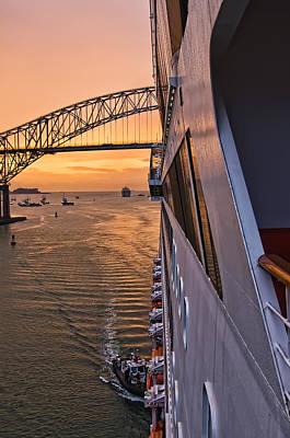 Photograph - Pan American Bridge by Maria Coulson